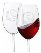 svatební vínové skleničky